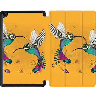 Amazon Fire 7 (2017) Tablet Smart Case - Hummingbirds von Victoria Topping