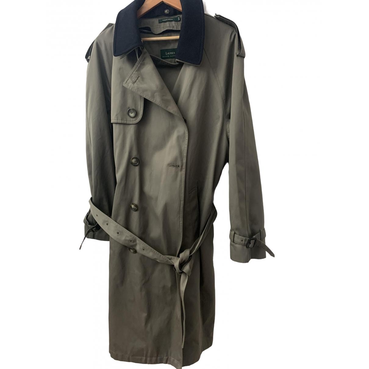 Lauren Ralph Lauren - Manteau   pour homme en coton - kaki