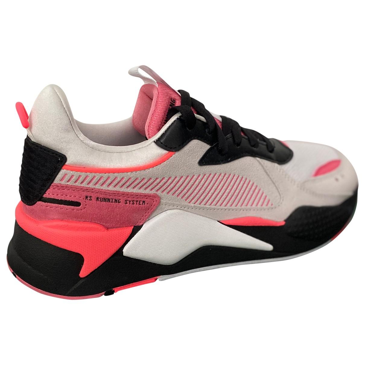 Puma - Baskets   pour femme en suede - multicolore