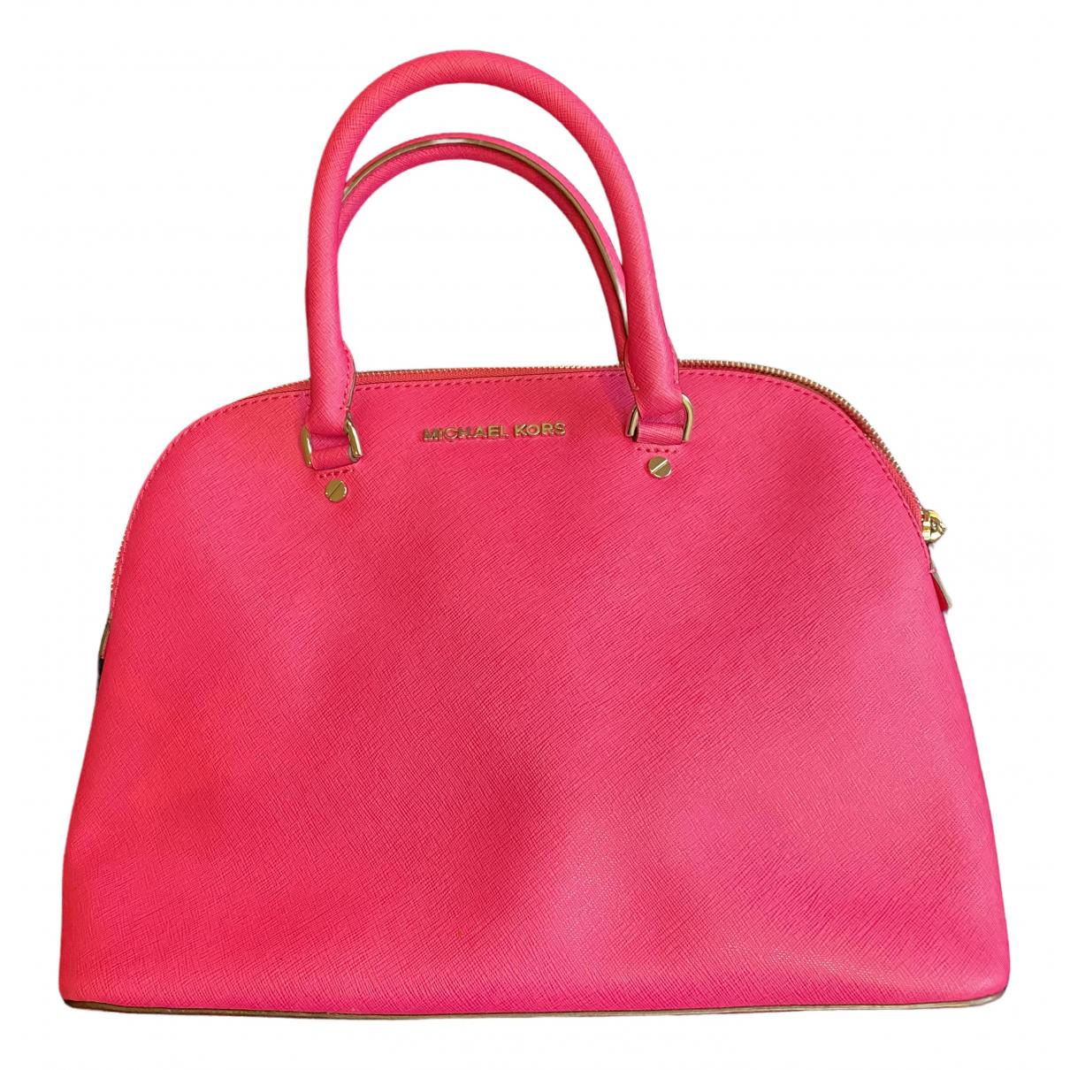 Michael Kors - Sac a main   pour femme en cuir - rose