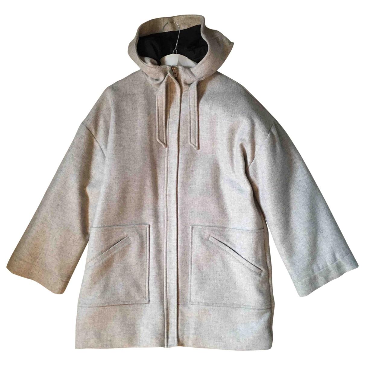 & Stories \N Grey Wool coat for Women 40 FR