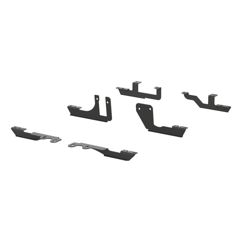 Aries 2051106 Steel Carbide Black Powder Coat Mounting Brackets for AeroTread