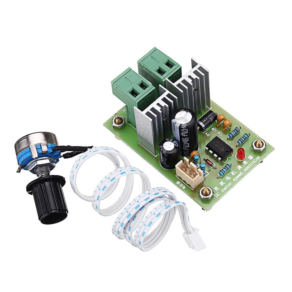 12V 24V 36V DC 10A PWM Pulse Width DC Motor Speed Controller Speed Regulator Switch