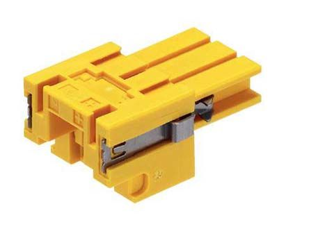 TE Connectivity Thermocouple Connector for use with Thermocouple Sensor Type K, Yellow
