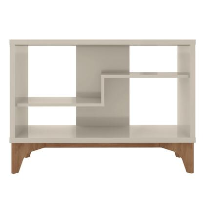 Gowanus Collection 8LC1 Accent Display Sideboard with Scand inavian Modern Style  Medium Density Particleboard (MDP) Frame and Solid Eucolyptus Wood