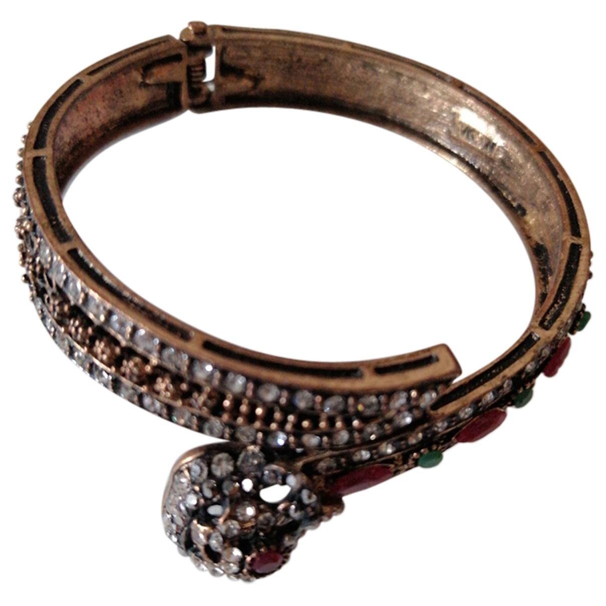 - Bracelet Toi & Moi pour femme en metal - multicolore