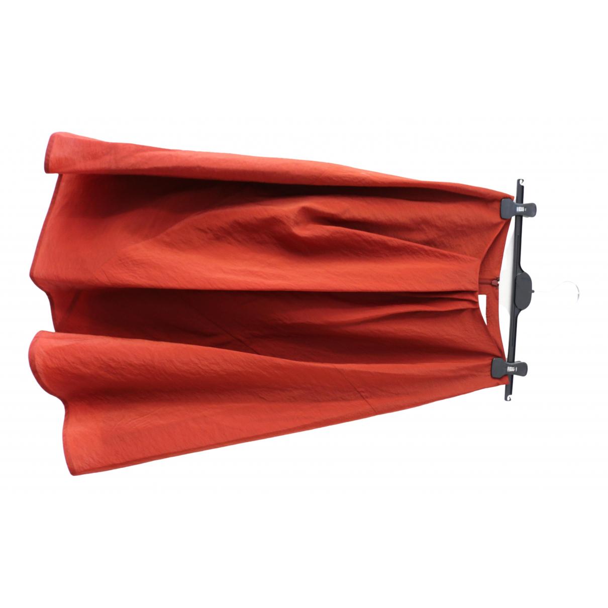 Christian Wijnants N Burgundy Wool skirt for Women 36 FR