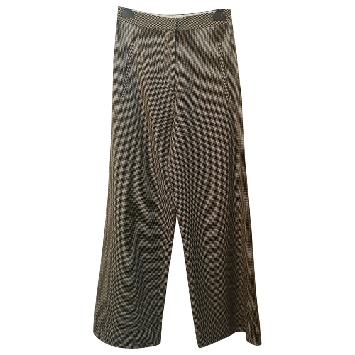 Acne Studios \N Wool Trousers for Women 36 FR