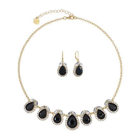 Monet Jewelry 2-pc. Jewelry Set, One Size , Black