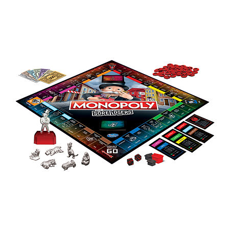 Hasbro Monopoly For Sore Losers, One Size , No Color Family