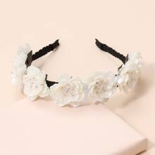 Shell Flower Decor Hair Hoop