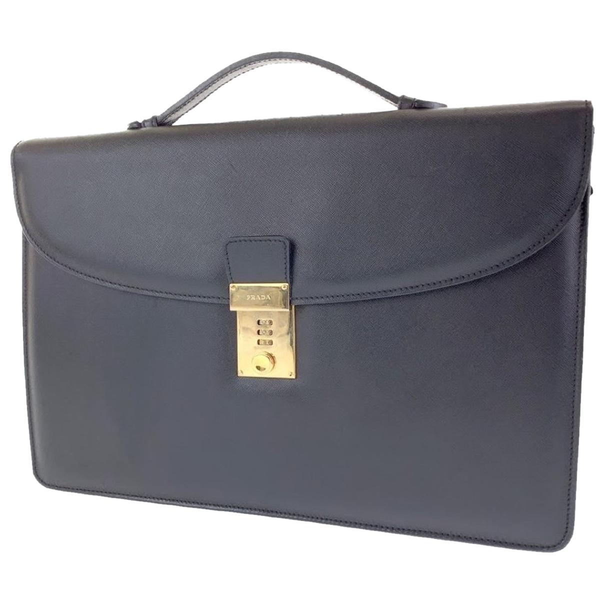 Prada N Leather bag for Men N