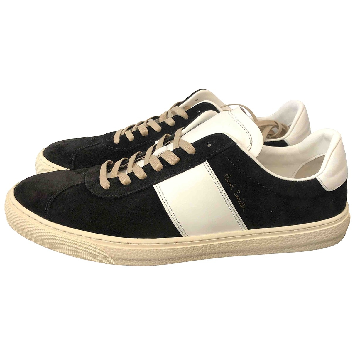 Paul Smith \N Black Suede Trainers for Men 9 UK