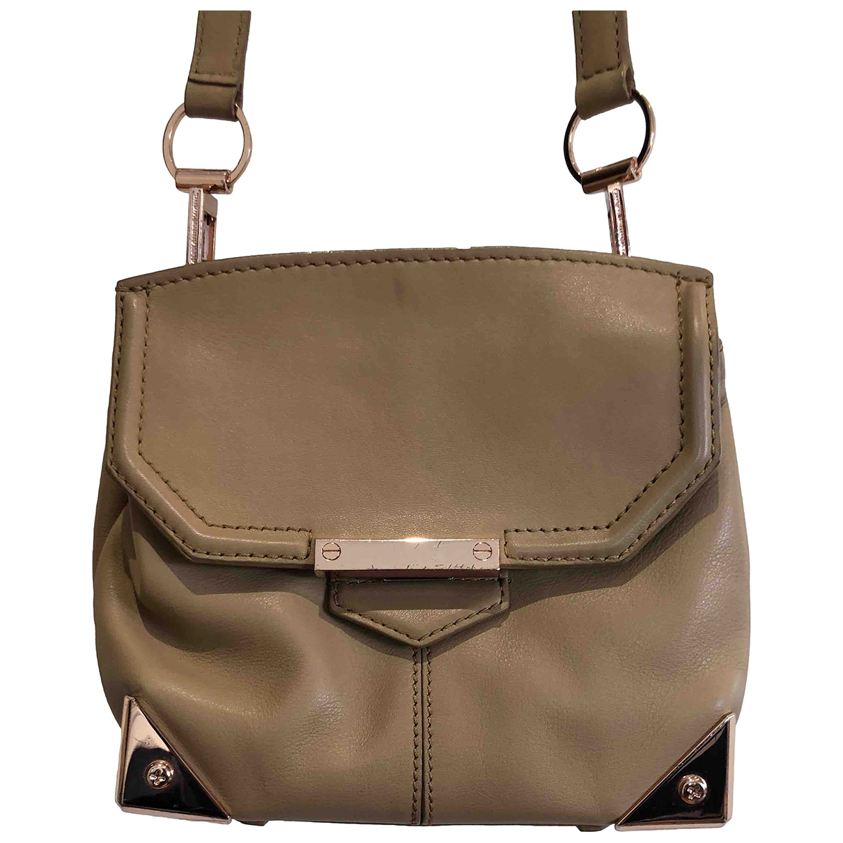 Alexander Wang \N Beige Leather handbag for Women \N