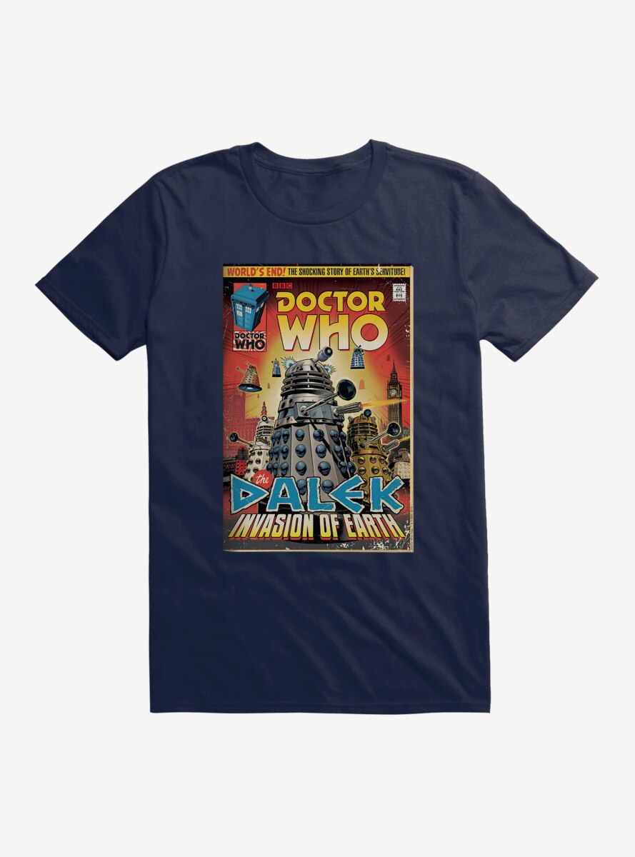 Doctor Who Invasion Of Earth T-Shirt