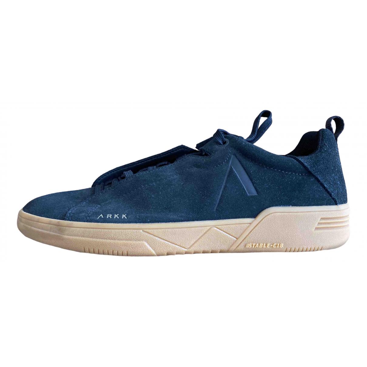 Arkk \N Sneakers in  Schwarz Veloursleder
