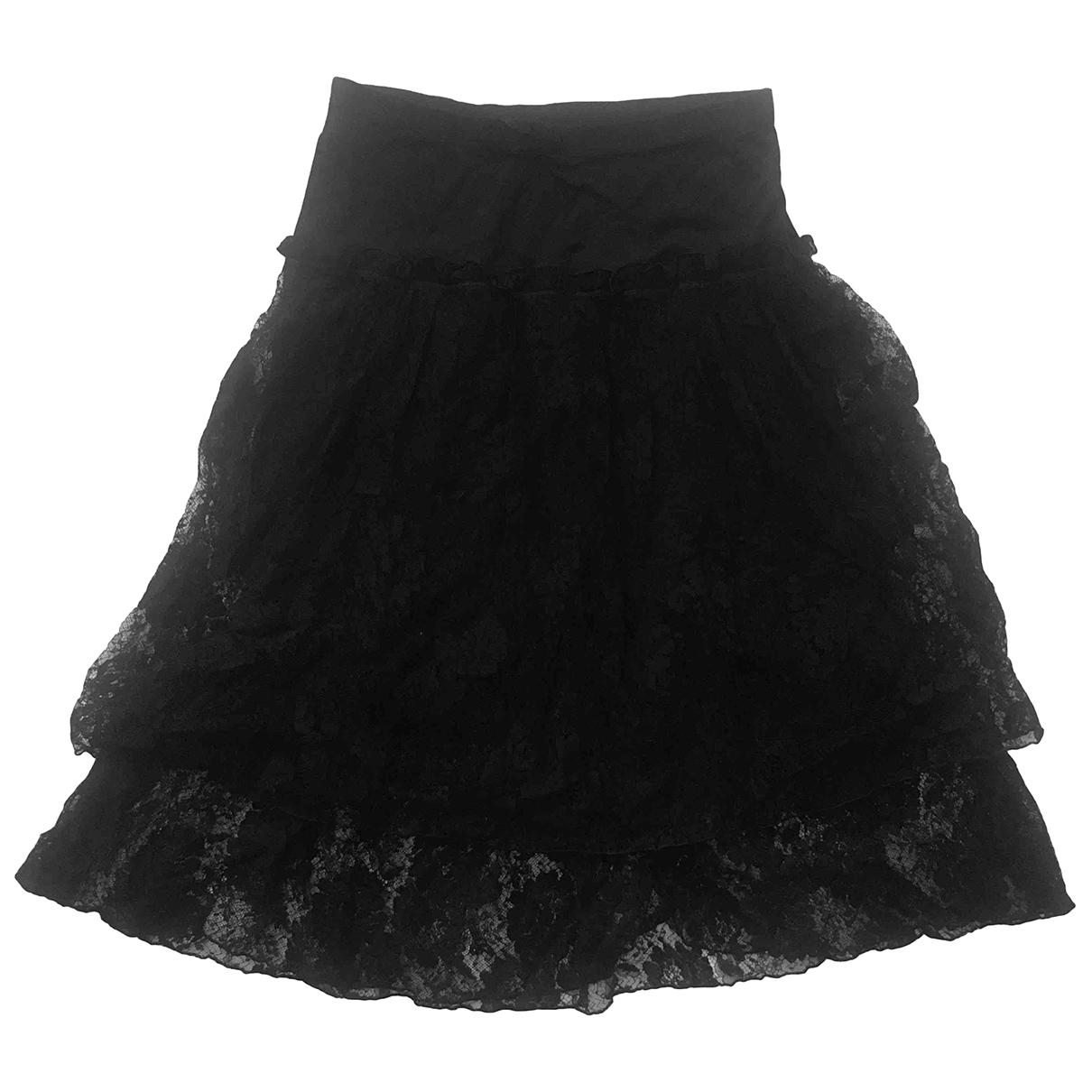 La Perla - Jupe   pour femme en coton - noir