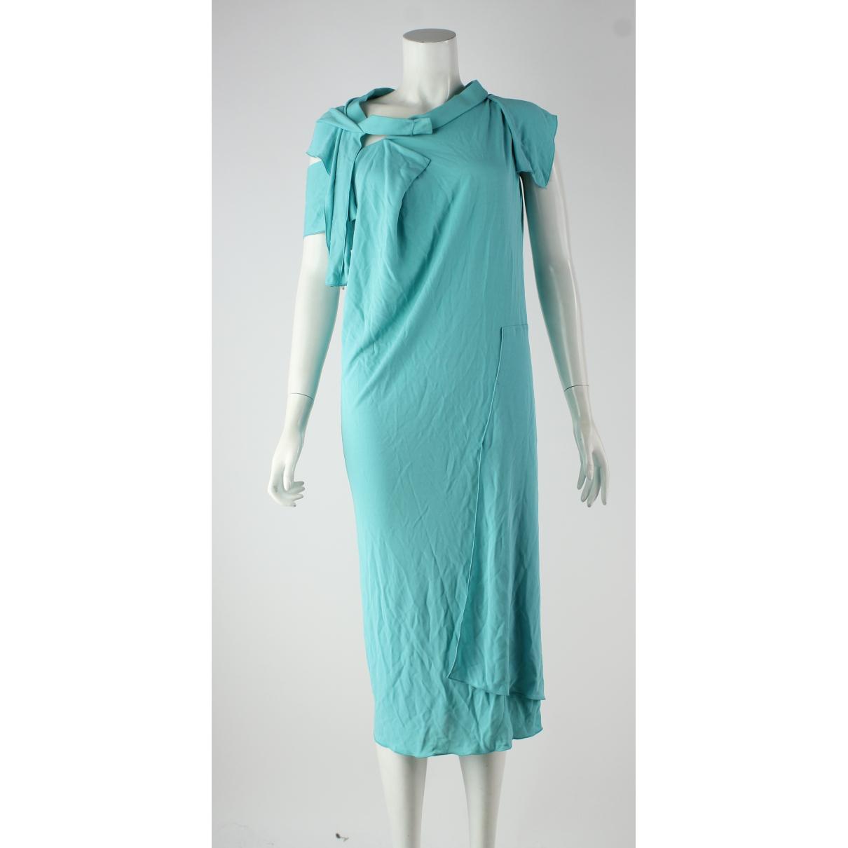 Rm By Roland Mouret \N Kleid in  Blau Viskose