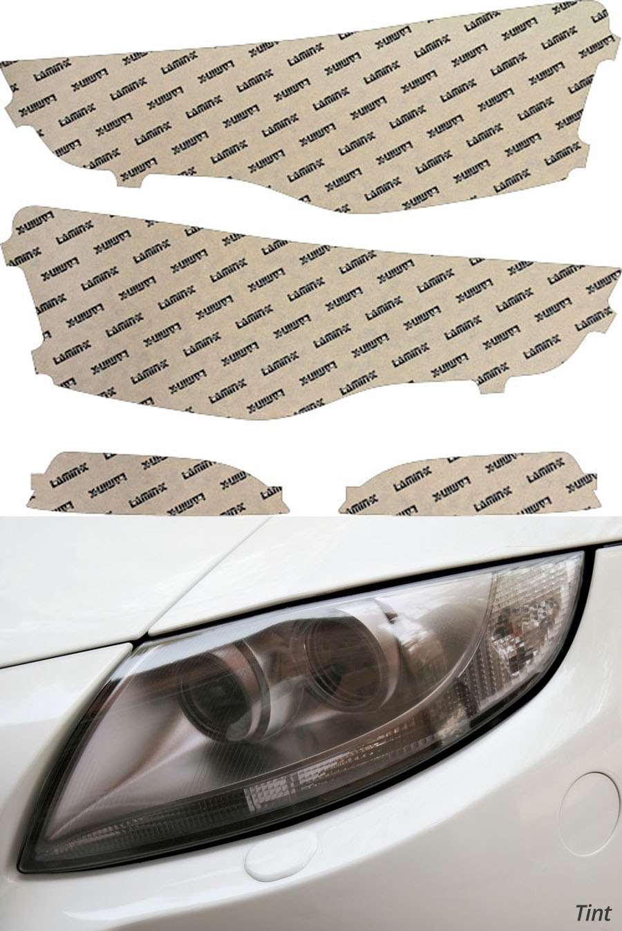 Audi A5 13-20 Tint Headlight Covers Lamin-X A034T