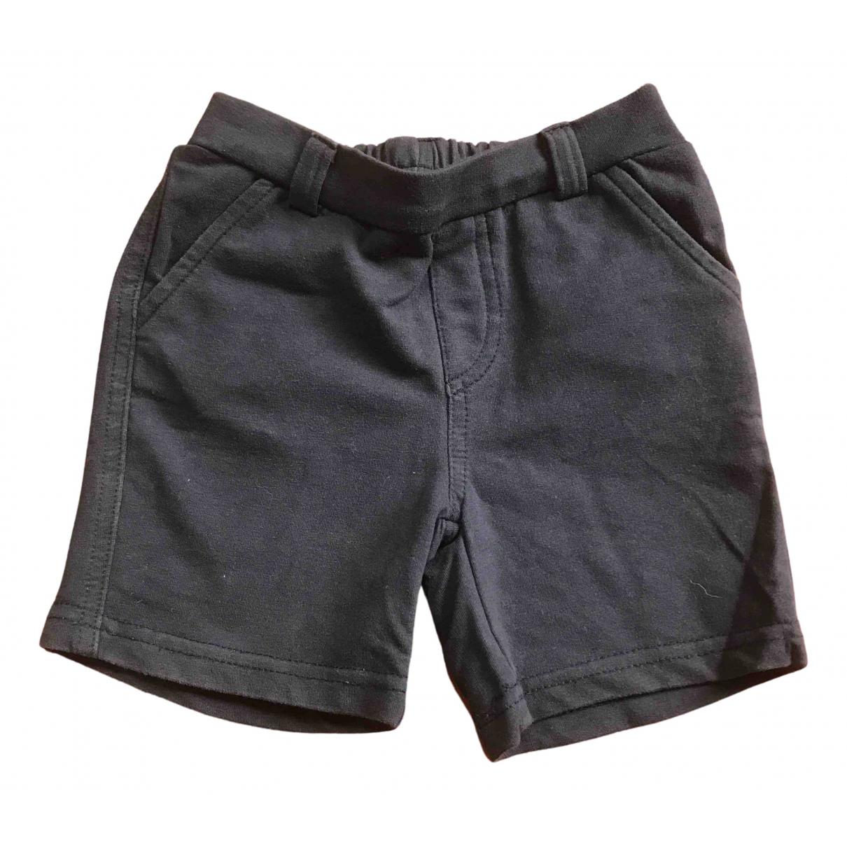 Armani Baby - Short   pour enfant en coton - bleu