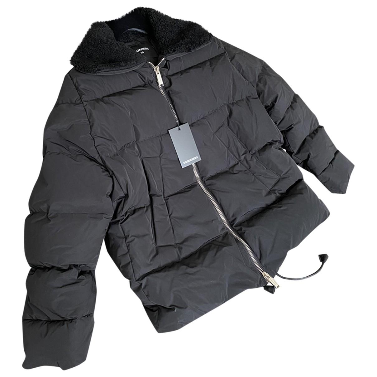 Dsquared2 \N Jacke in  Schwarz Polyester