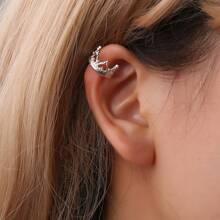 Crown Design Ear Cuff 1pc