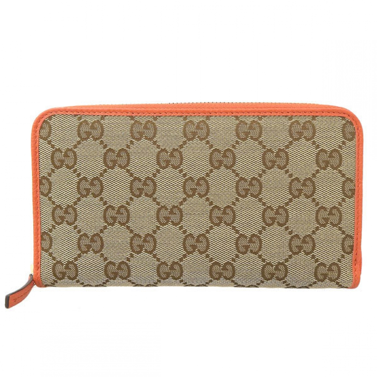 Gucci Continental Beige Cloth wallet for Women \N