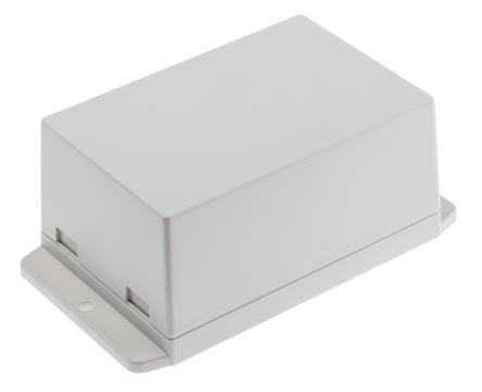 RS PRO White ABS Enclosure, Flanged, 105 x 70 x 50mm