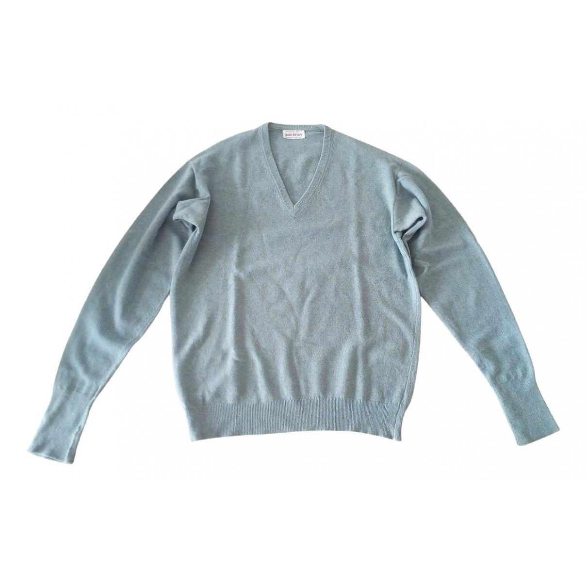 - Pulls.Gilets.Sweats   pour homme en laine - turquoise