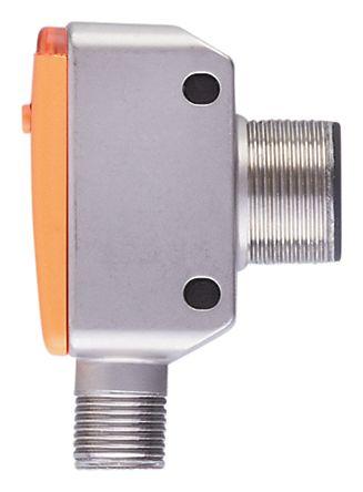 ifm electronic Ultrasonic Sensor Block M18 x 1, 40 → 300 mm, Analogue, PNP-NO/NC, M12 - 4 Pin IP67