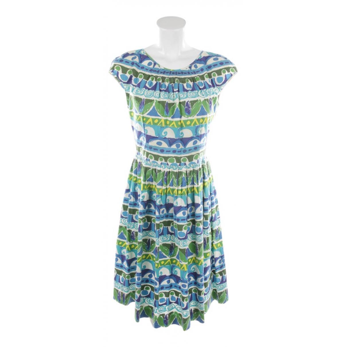Prada \N Multicolour Cotton dress for Women 38 FR