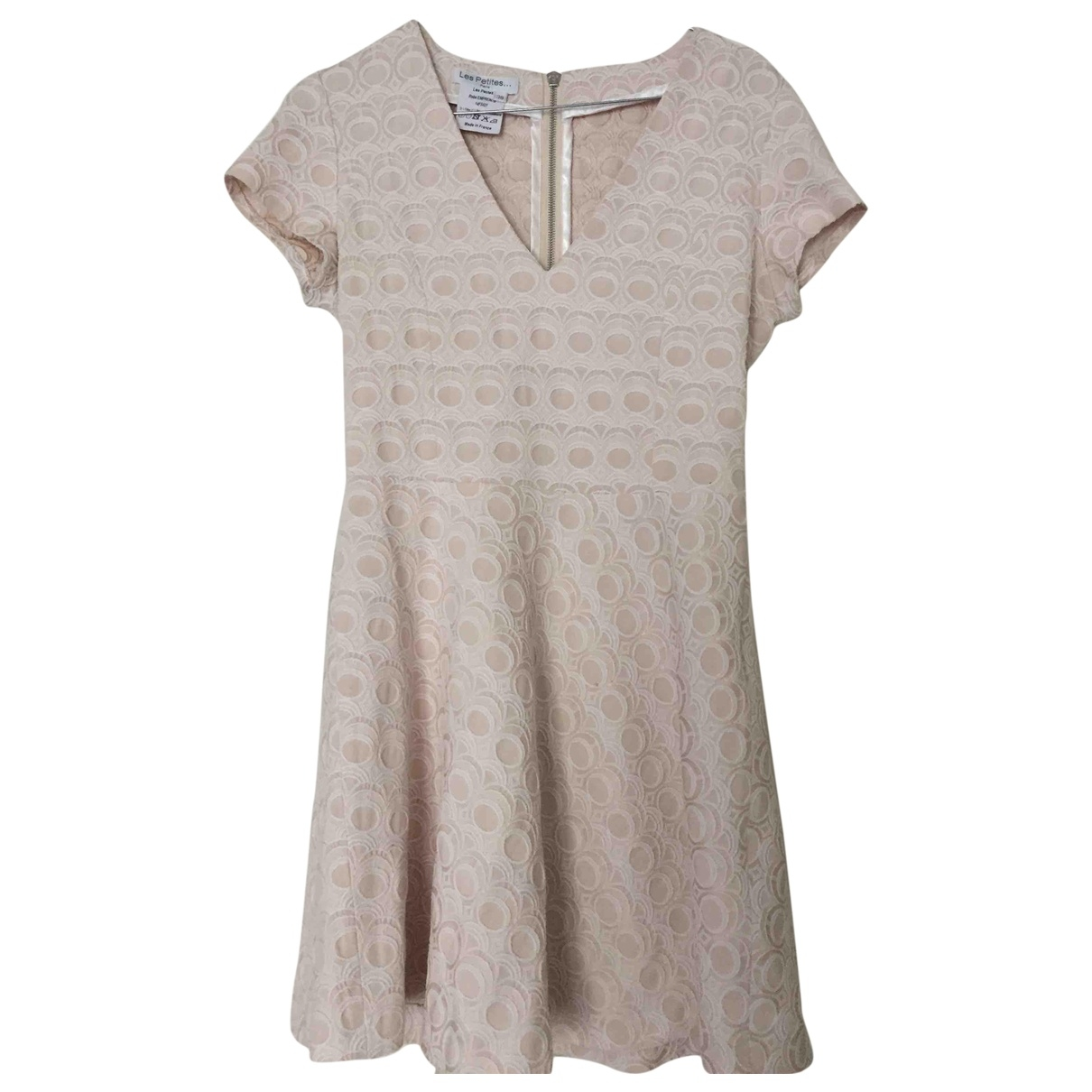 Les Petites \N Pink Cotton dress for Women 38 FR