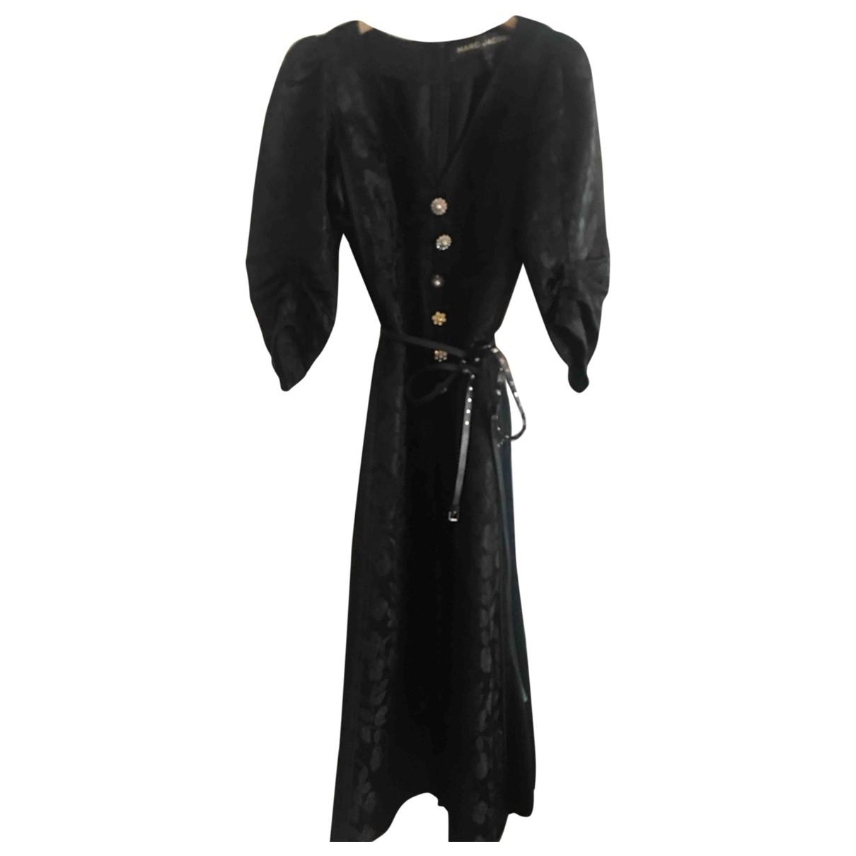 Marc Jacobs - Robe   pour femme en soie - noir
