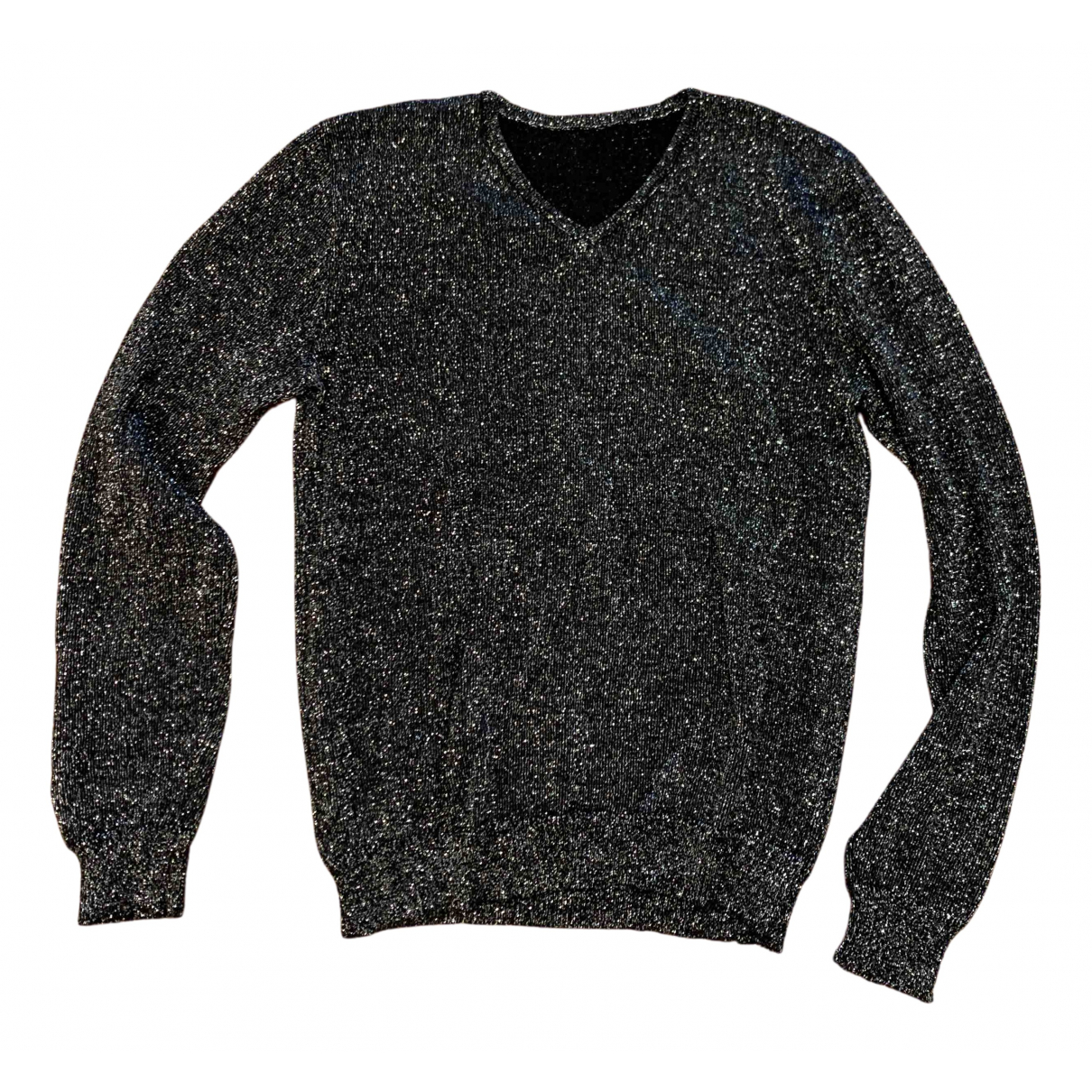 Non Signé / Unsigned N Silver Knitwear for Women One Size IT