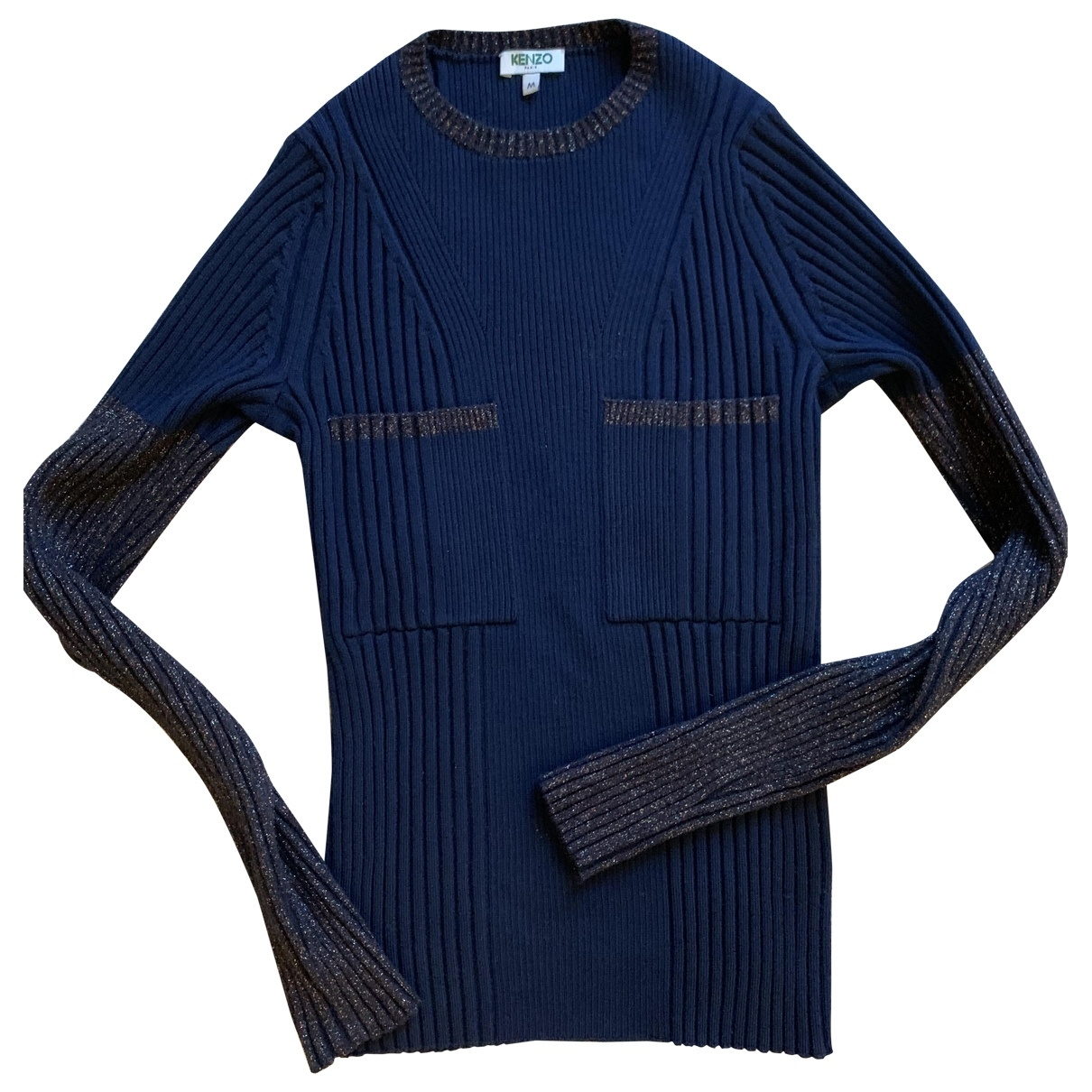 Kenzo \N Navy Wool Knitwear for Women M International