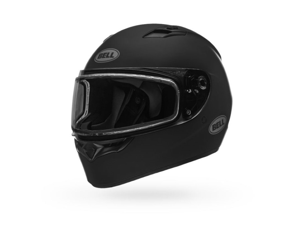 Bell Racing 7090690 Qualifier Snow Helmet w/ Dual Shield