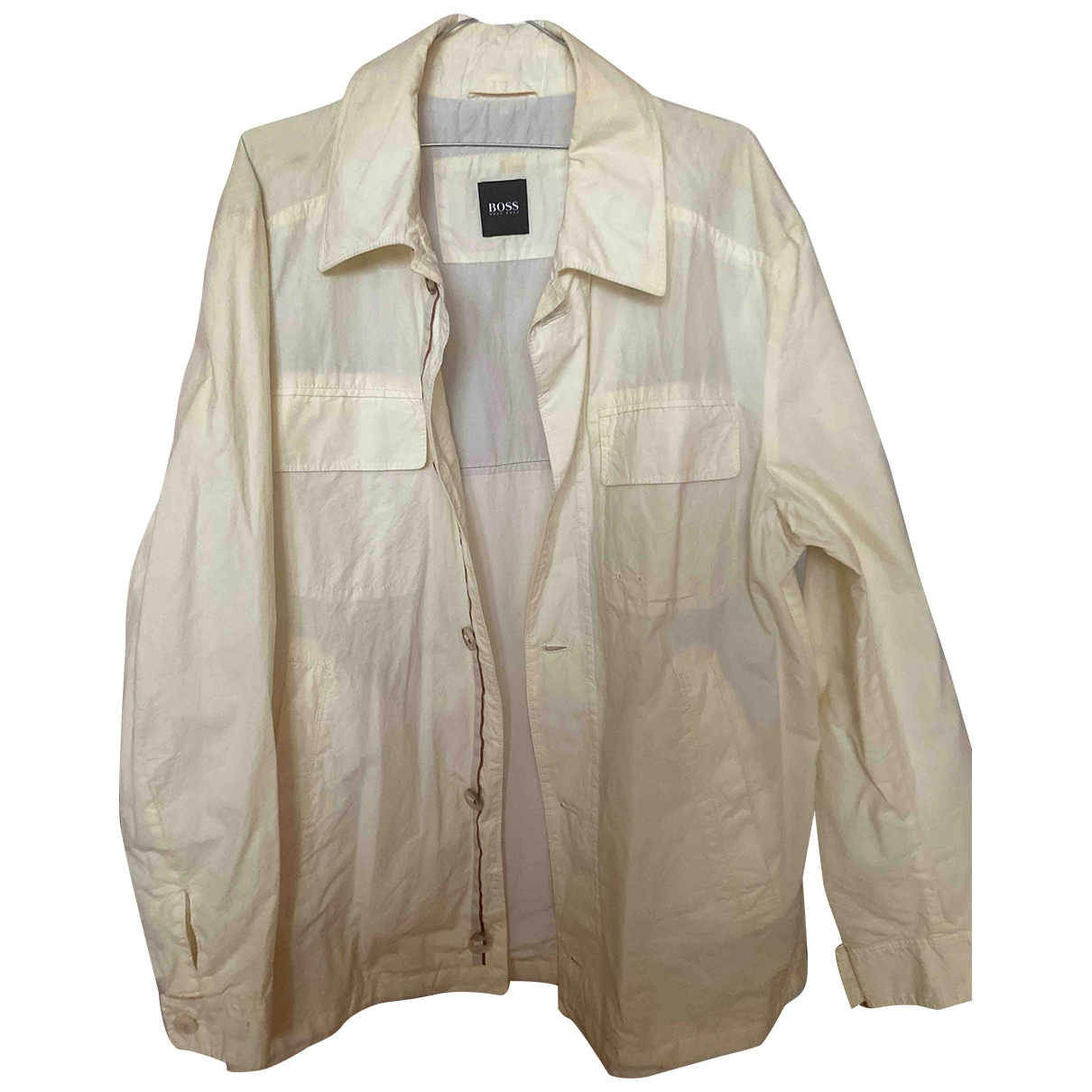 Boss \N Ecru Cotton jacket  for Men L International