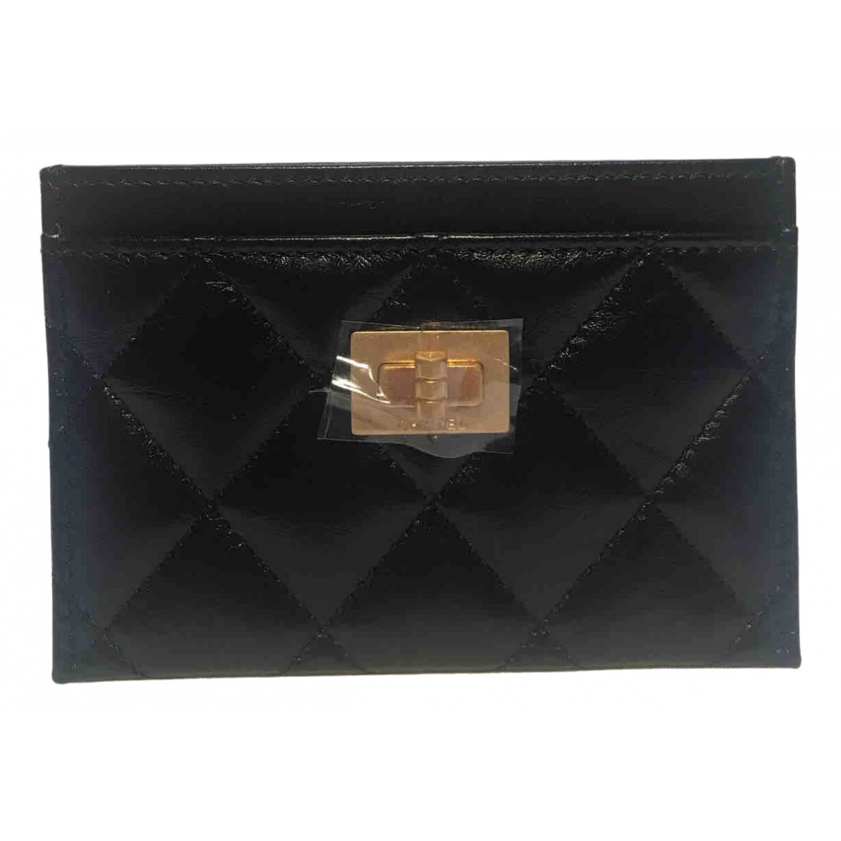 Chanel 2.55 Black Leather Purses, wallet & cases for Women N