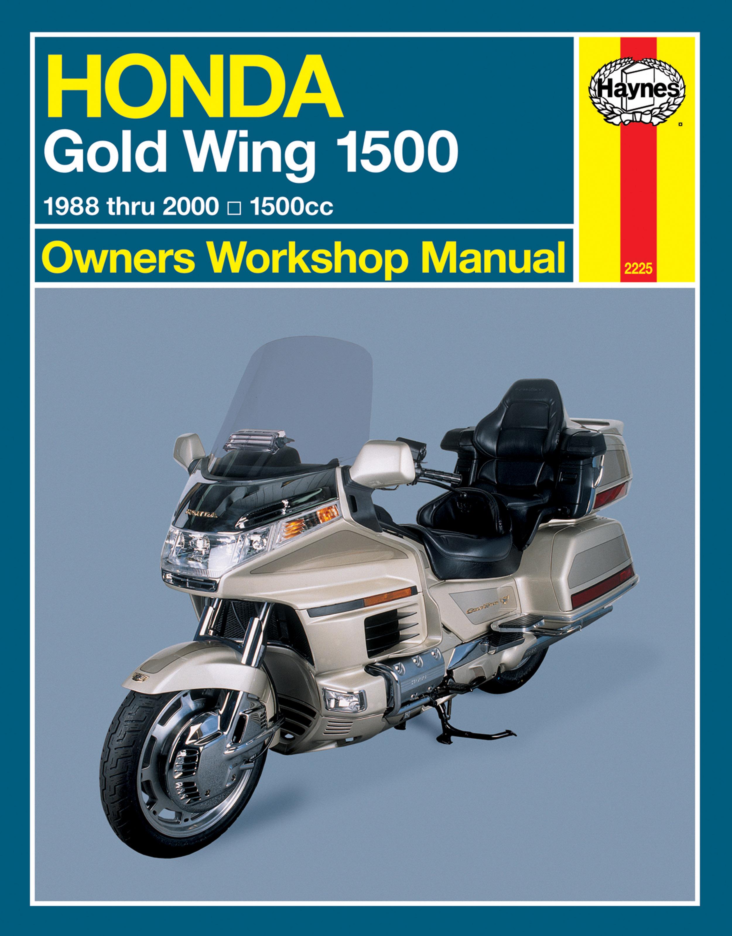 Honda Gold Wing 1500 (88-00) Haynes Repair Manual