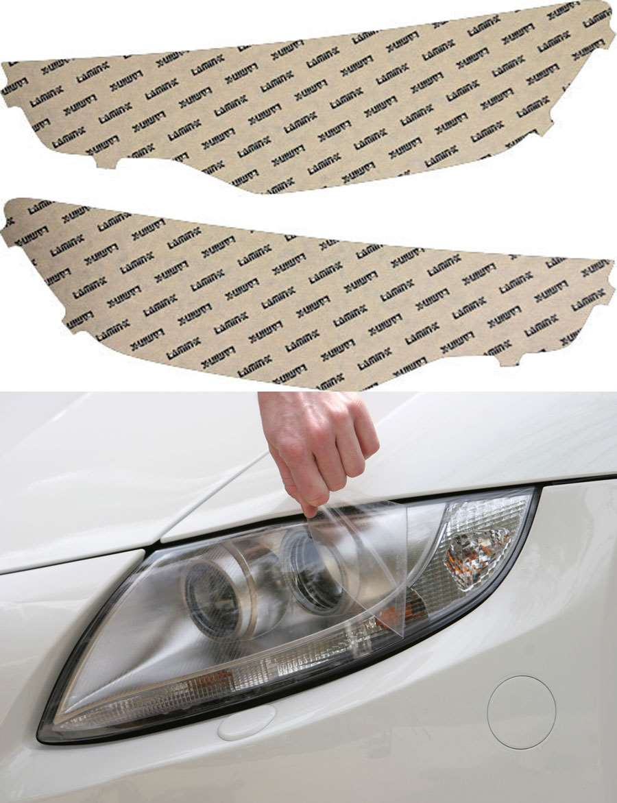Audi S6 13-15 Clear Headlight Covers Lamin-X A036CL