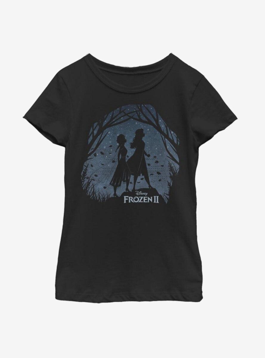 Disney Frozen 2 Our Adventure Youth Girls T-Shirt