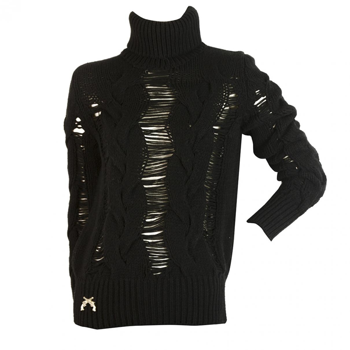 Philipp Plein - Pull   pour femme en laine - noir