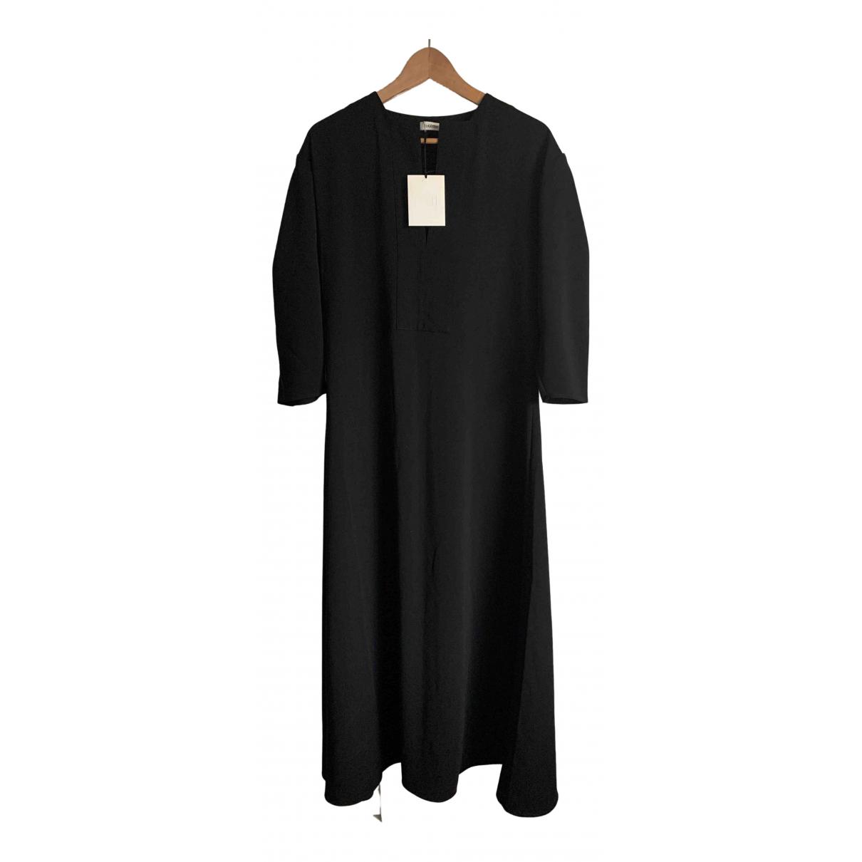 Toteme \N Kleid in  Schwarz Polyester