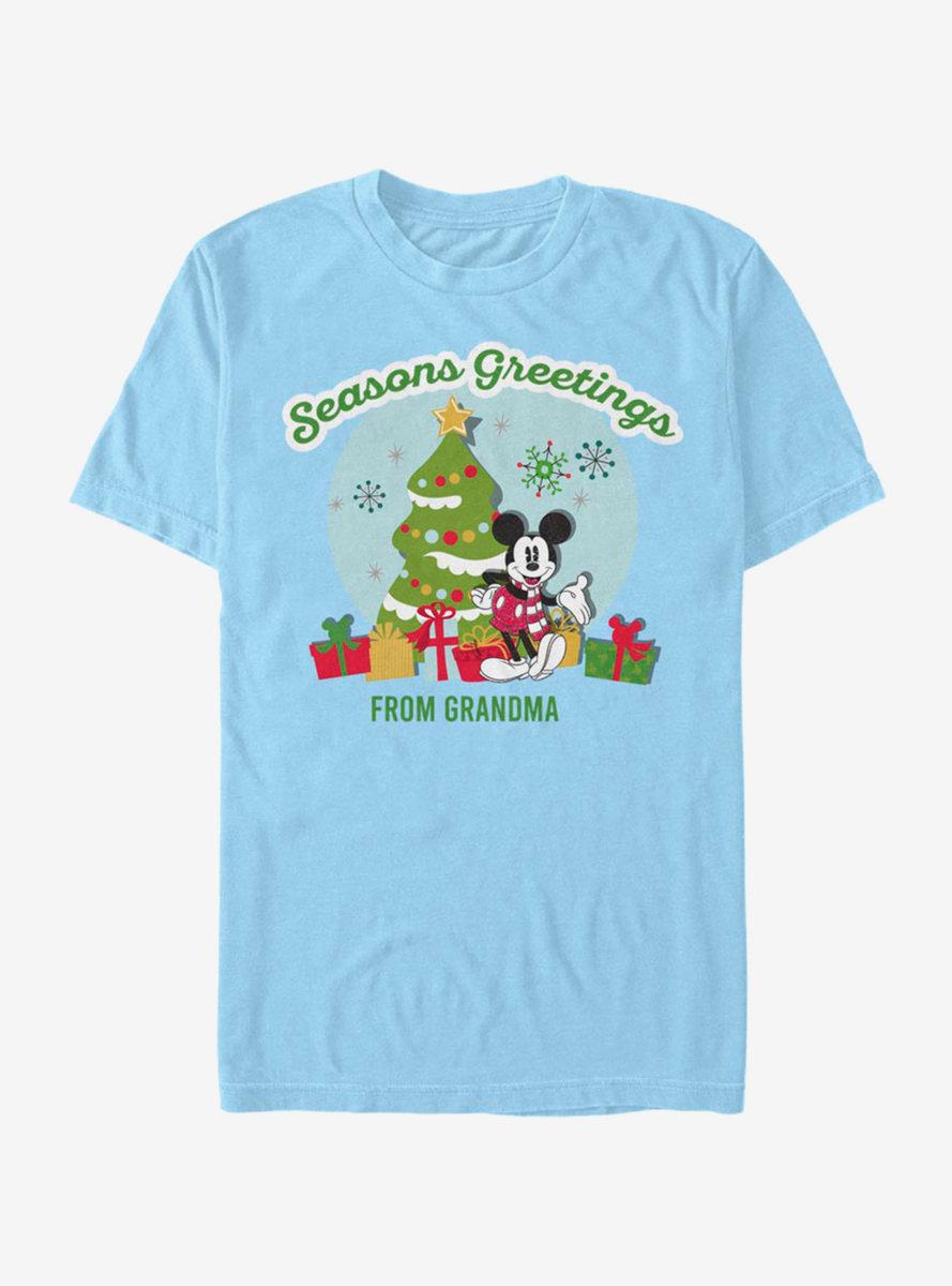 Disney Mickey Mouse Greetings From Grandma T-Shirt