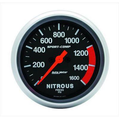 Auto Meter Sport-Comp Electric Nitrous Pressure Gauge - 3574