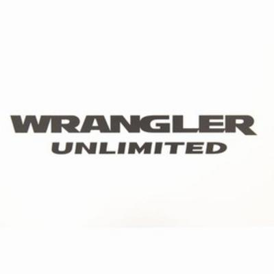 Jeep Wrangler Unlimited Decal (Black) - 68195794AA