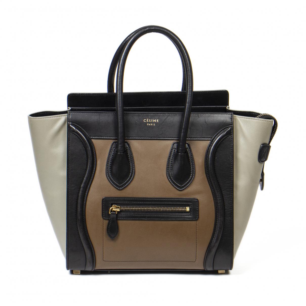 Celine Luggage Handtasche in Leder