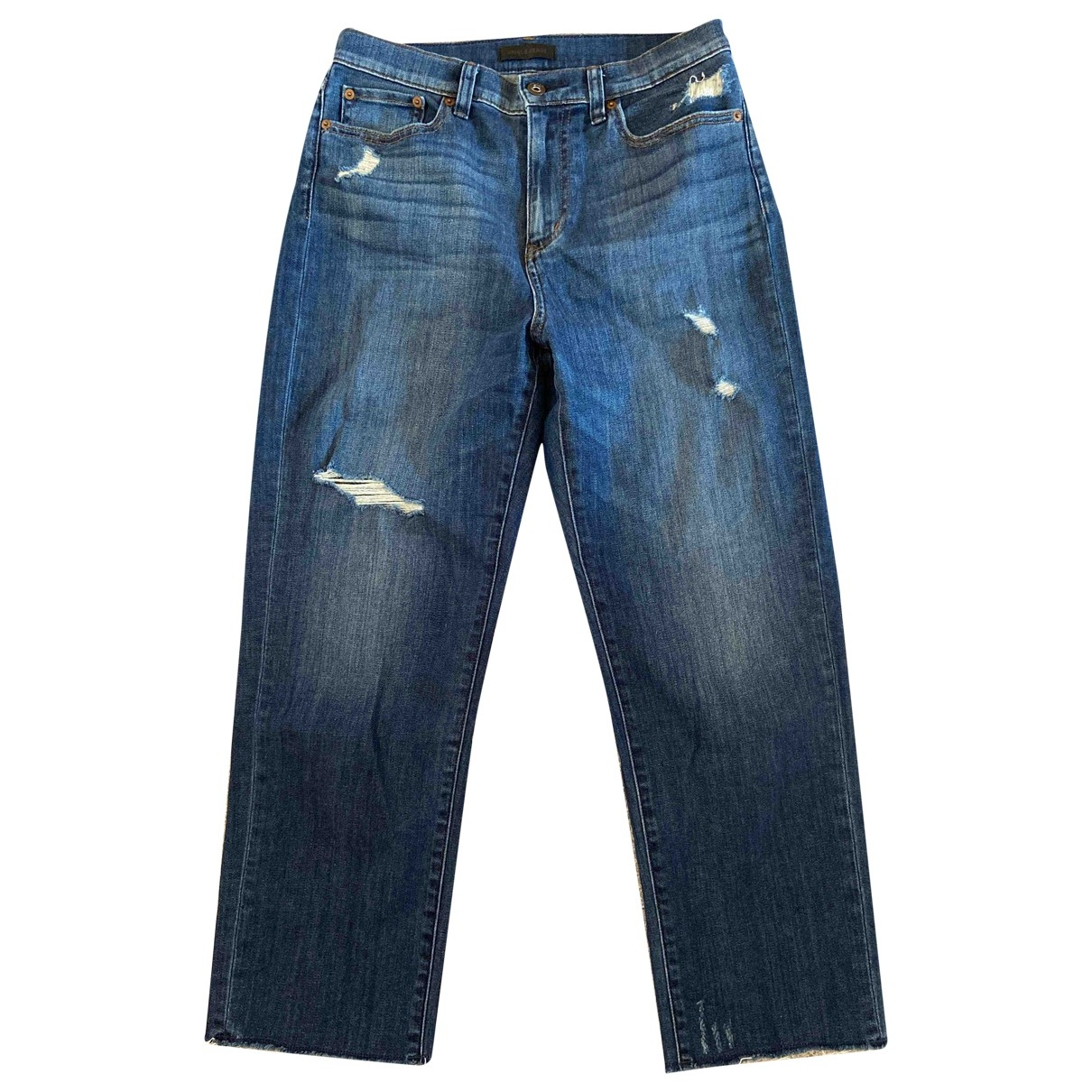 Uniqlo \N Blue Cotton - elasthane Jeans for Women 26 US