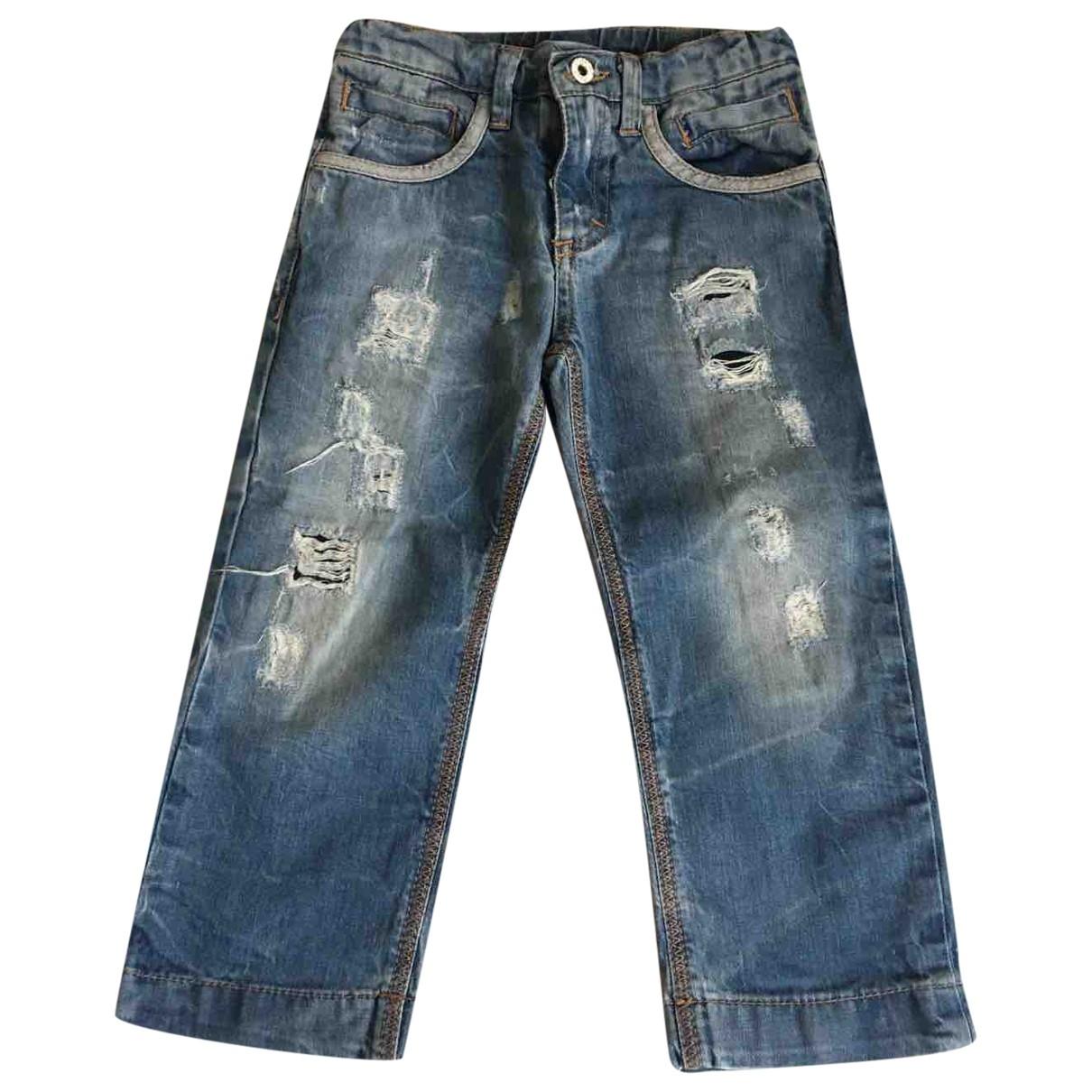 D&g - Pantalon   pour enfant en denim - bleu