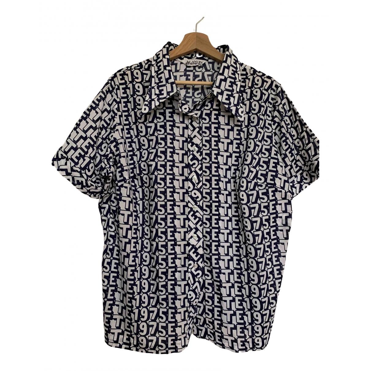 Lanvin - Chemises   pour homme en coton
